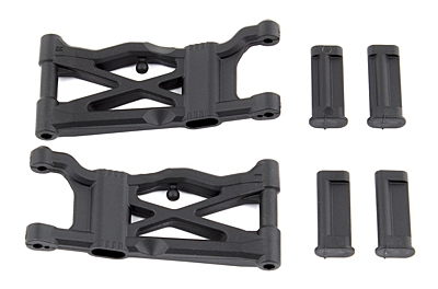 Associated B6.1 Suspension Arms, rear, hard
