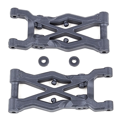 Associated B6.2 Rear Suspension Arms, 75mm, hard