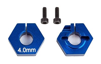 Associated FT Clamping Wheel Hexes, 4.0 mm
