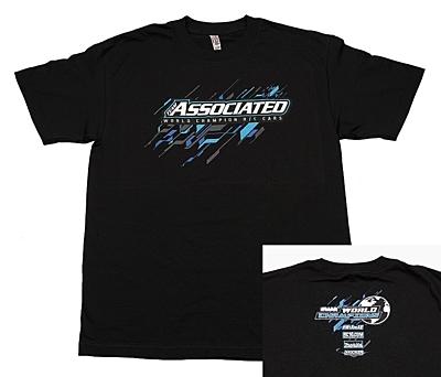 Associated 2017 Worlds T-Shirt (Black, S)