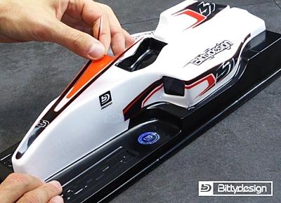 Bittydesign TYPE-6R F1 Clear Body
