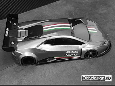 Bittydesign GT12 Agata Clear Body (1:12)
