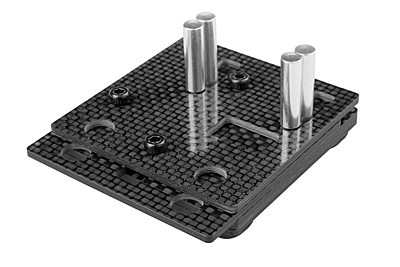 Corally Universal Soldering Jig Carbon Fibre