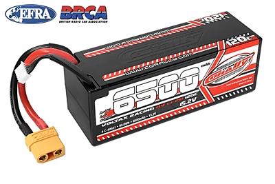 Corally Voltax 6500mAh 15.2V 4S 120C HV LiPo (XT90, 584g)