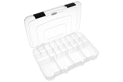 Corally Assortment Box - Large - 3-21 Adjustable Compartments (364x248x50mm)