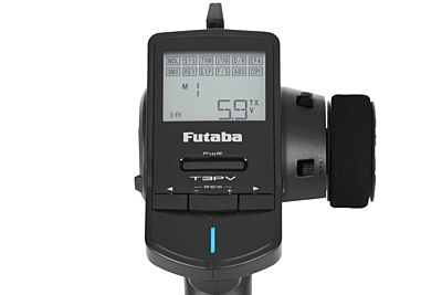 Futaba 3PV Radio + R304SB Receiver (with telemetry)
