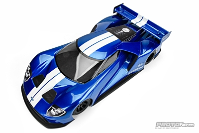 PROTOform Ford GT Clear Body (200mm Pan Car)