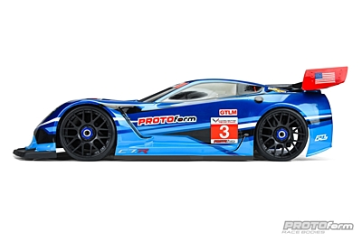 PROTOform Chevrolet Corvette C7.R Clear Body (1:8 GT) (GT1) (Short Wheelbase)