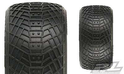 "Pro-Line Positron 2.2"" MC (Clay) Off-Road Buggy Rear Tires"
