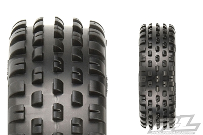 "Pro-Line Wide Wedge 2.2"" 2WD Z4 (Soft Carpet) Off-Road Carpet Buggy Front Tires"