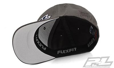 Pro-Line Gray FlexFit Hat (S-M)