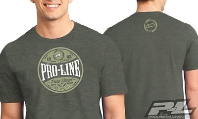 Pro-Line Hot Rod Green T-Shirt XXXL