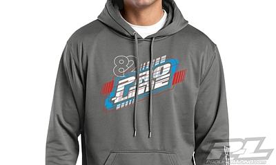 Pro-Line Energy Dark Smoke Gray Hoodie Sweatshirt (XXXL)