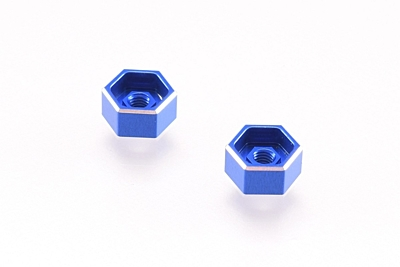Revolution Design B6 Battery Thumb Nuts (Blue/2pcs)