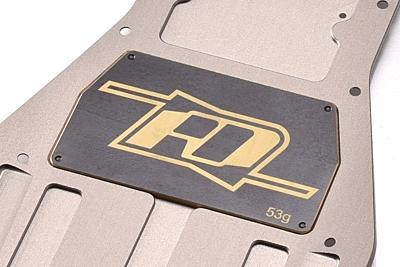 Revolution Design B6 Brass Electronic Mounting Plate