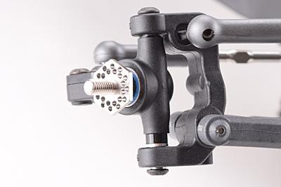 Revolution Design B6 Titanium Front Axle Set with Shims