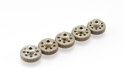 Ruddog 64dp Aluminium Pinion 5-Pack (41, 42, 43, 44, 45 T)