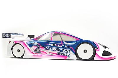 ZooRacing HellCat Ultralight 0.5mm Touring Car Body 190mm