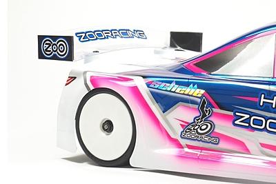 ZooRacing HellCat Standard Touring Car Body 190mm