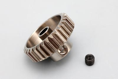 Yokomo 19T Hard Precision Pinion Gear (48Pitch·Light Weight)