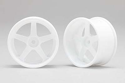 Racing Performer Drift Wheel 5 spoke 01 (8mm Offset·White·2pcs)