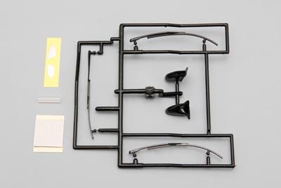 Yokomo Aero Mirror & Wiper Set