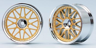 Yokomo 10-Mesh Wheel (Gold)