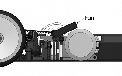 Awesomatix AT139 - Fan Holder for A800MMX/A800FX