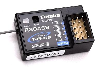 Futaba R304SB (T-FHSS/S.Bus2) Receiver