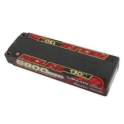 Gens ace Redline Series 5800mAh 7.6V 2S 130C HV LiPo (5mm, 222g)