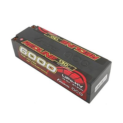 Gens ace Redline Series 6000mAh 15.2V 4S 130C HV LiPo (5mm, 448g)