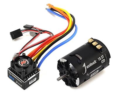 Hobbywing XeRun XR10 G2.1 Justock 10.5T Power System Combo