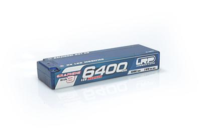 LRP HV LCG Modified GRAPHENE-3 6400mAh Hardcase Battery-7.6V LiPo-120C/60C