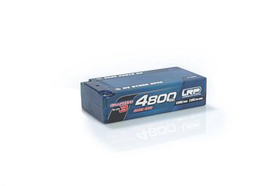 LRP Graphene-3 Stock Spec Shorty 4800mAh 7.6V 2S 130C/65C HV LiPo (5mm, 210g)