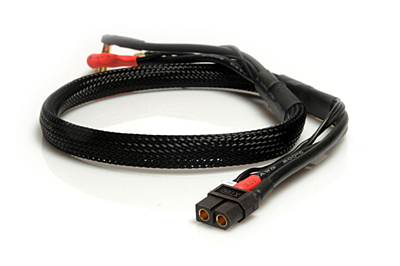 LRP 2S-Charging Lead - 60cm - XT60, XH to 4/5mm, 2mm