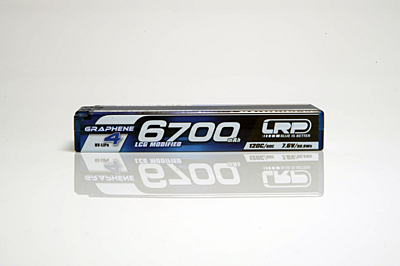 LRP Graphene-4 LCG Modified 6700mAh 7.6V 2S 120C/60C HV LiPo (5mm, 274g)