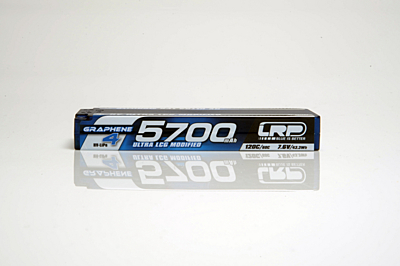 LRP Graphene-4 Ultra LCG Modified 5700mAh 7.6V 2S 120C/60C HV LiPo (5mm, 234g)