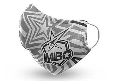 MIBO Theme High-Performance Face Mask Ears White + Stickers by MM