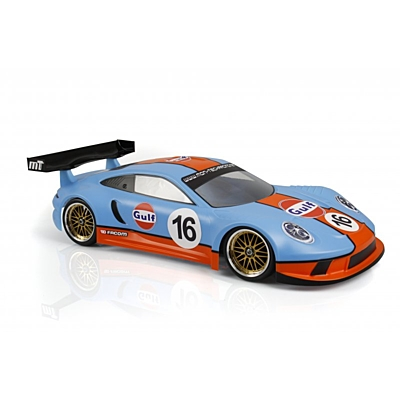 Mon-Tech RS GT3 1/10 GT Clear Body 190mm