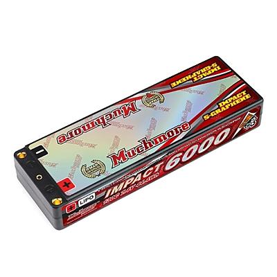 Muchmore Impact Silicon Graphene LCG Max-Punch FD4 6000mAh 7.4V 2S 130C LiPo (4mm, 285g)