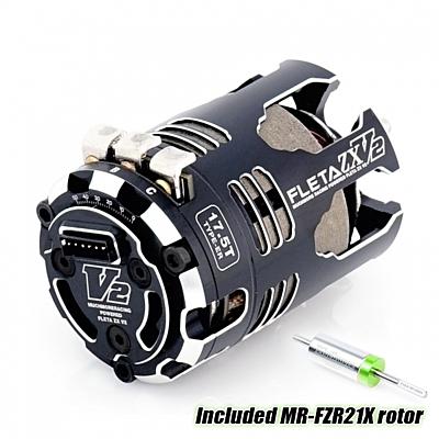 Muchmore FLETA ZX V2 17.5T ER Spec Brushless Motor w/21X Rotor
