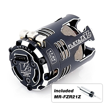 Muchmore FLETA ZX V2 17.5T ER Spec Brushless Motor w/21Z Rotor
