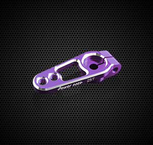 Power HD Clamp Servo Horn SR8 (19/15mm·Purple·25T)
