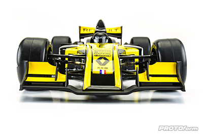 PROTOform V2 F1 Front Wing (Black) for 1:10 Formula 1