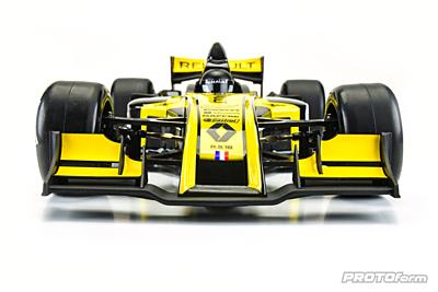 PROTOform V2 F1 Front Wing (White) for 1:10 Formula 1