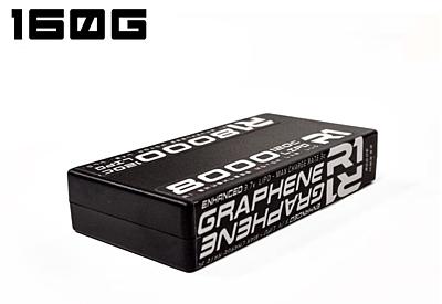 R1 Wurks 8000mAh 120C 3.7V 1S Enhanced Graphene Battery