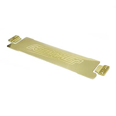 """RC Maker Brass """"SLIM"""" LCG Battery Weight Plate (37g)"""
