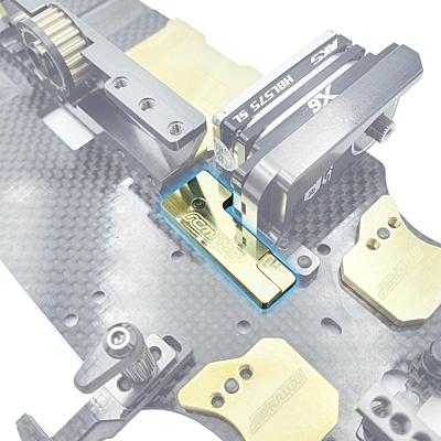 RC Maker LCG Front Centre Weight 10g for Awesomatix A800 MMX/MMXA/MMCX