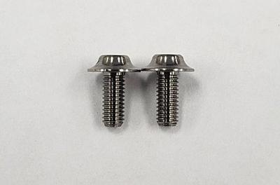 Reve D Super Precision Machine Cut Titanium Motor Screw (2pcs)