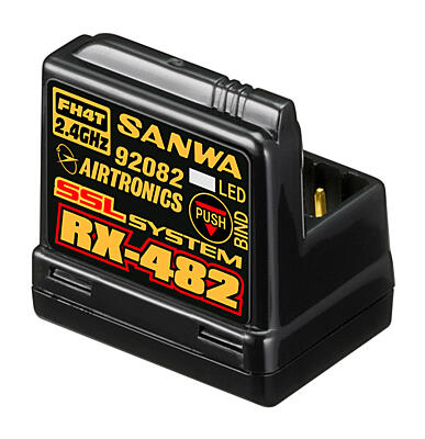 Sanwa M12S-RS Radio SPECIAL EDITION Red + 2x RX-482 Receiver